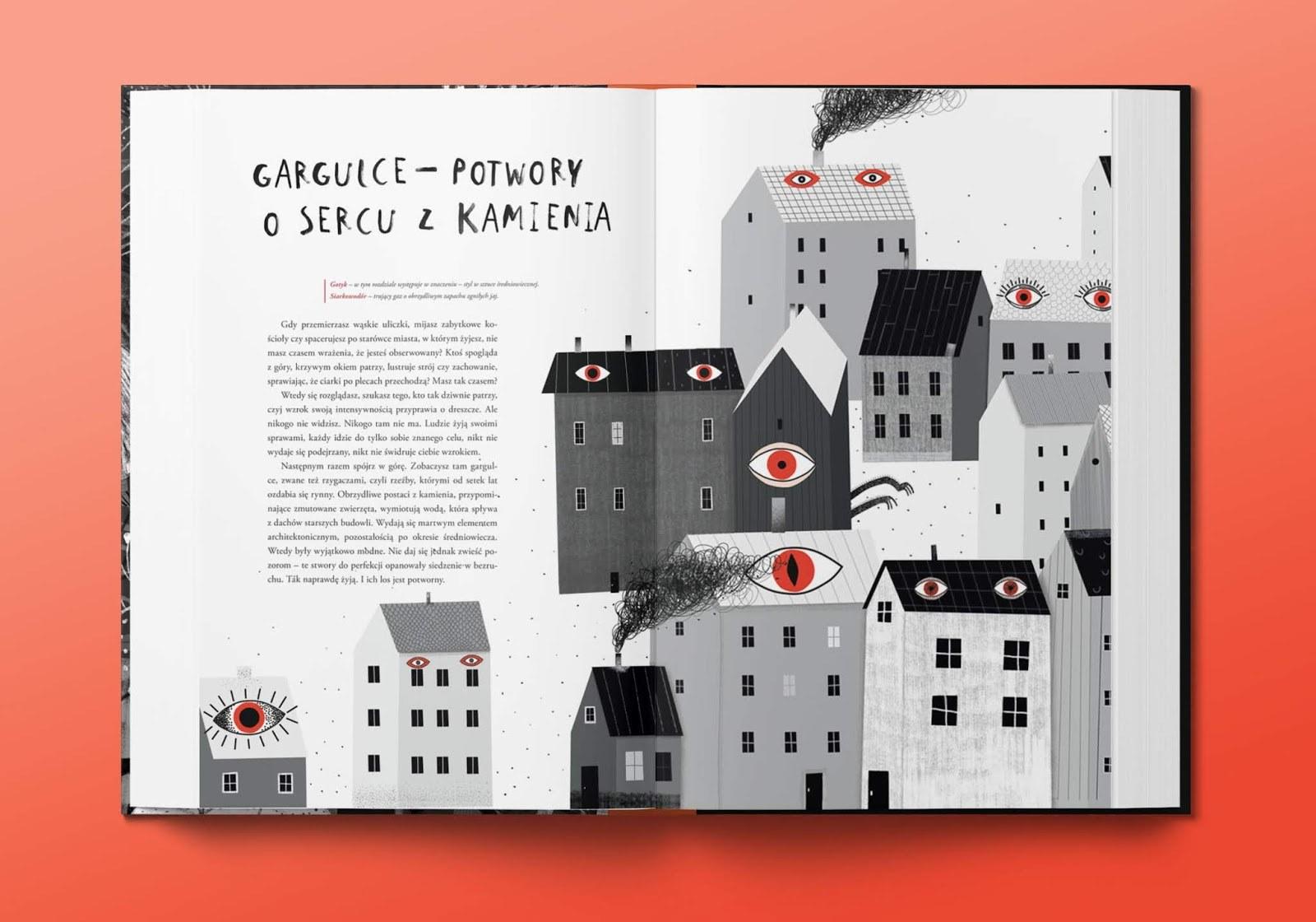 najpiękniejsza książka dla dzieci potwory
