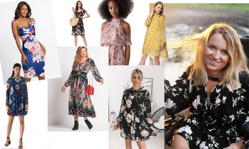 kwiatowe sukienki na wakacje 2019 - najmodniejsze trendy roku