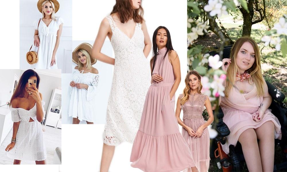 najmodniejsze romantyczne sukienki na lato 2019 pastelowe