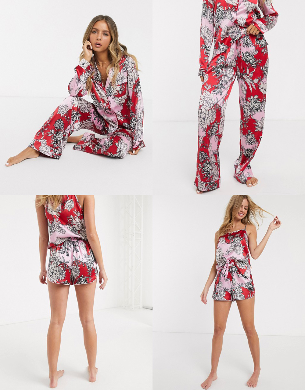 jak nosić piżamę w stylu fashion na co dzień? Gdzie kupić fashion piżamkę? Stylizacje gwiazd, inspiracje street style