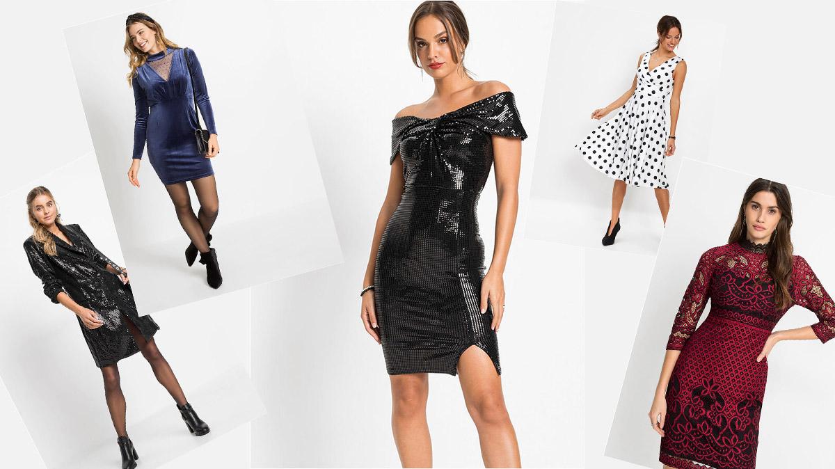 Modne sukienki na Walentynki 2021 z Bonprix